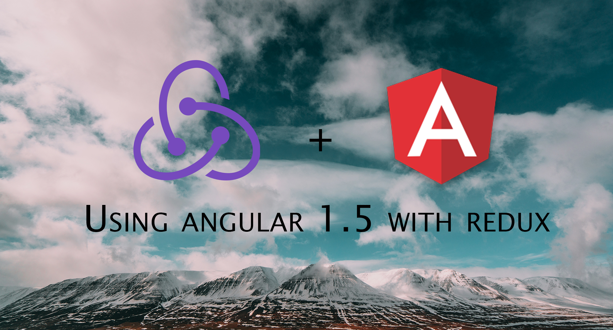 Angular 1 using redux architecture for Angular 1 architecture