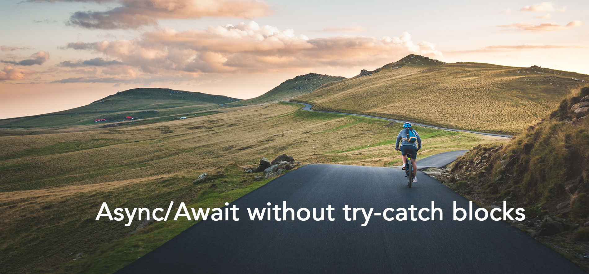 How to write async await without try-catch blocks in Javascript